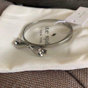 Kate Spade Silver Bowtie Bracelet 🎀